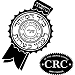 CRC Central Rabbinical Congress - Small Kashrus Symbol - DoctorVicks.com